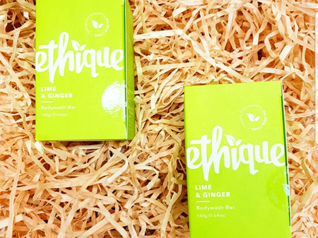 Ethique Lime & Ginger Bodywash Bar