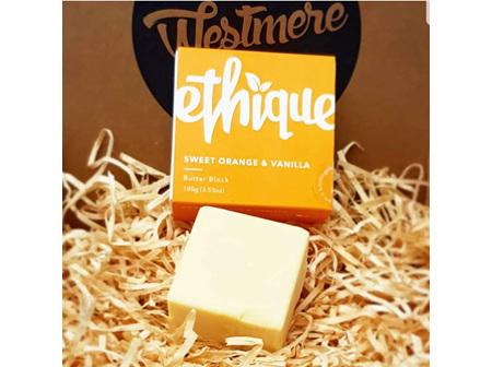 Ethique Orange & Vanilla Butter Block