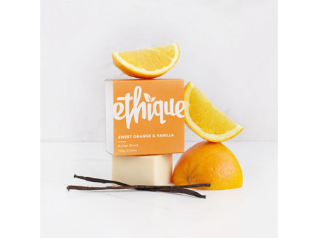 Ethique Orange & Vanilla Butter Block