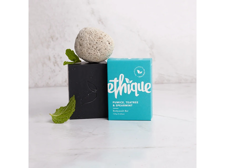 Ethique Pumice, Tea Tree & Spearmint Bodywash Bar
