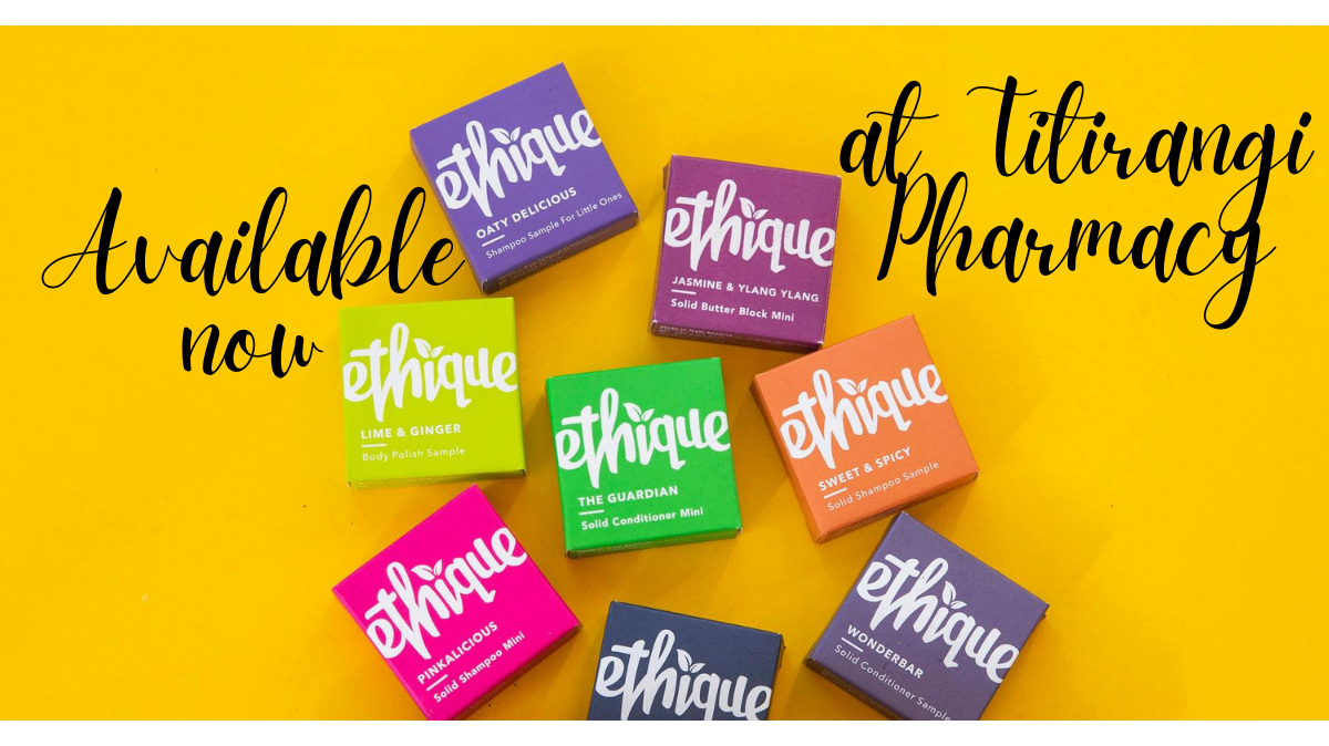 check out Ethique Shampoo and Conditioner bars
