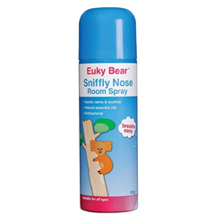 EUKY Bear Sniffly Nose Room Spray 125g
