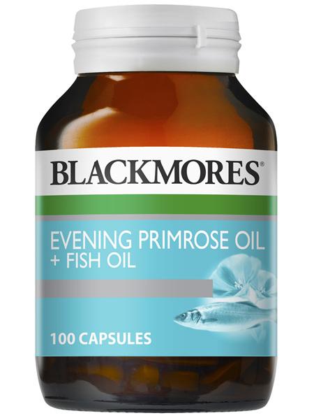 Evening Primrose Oil + Fish Oil 100 Capsules