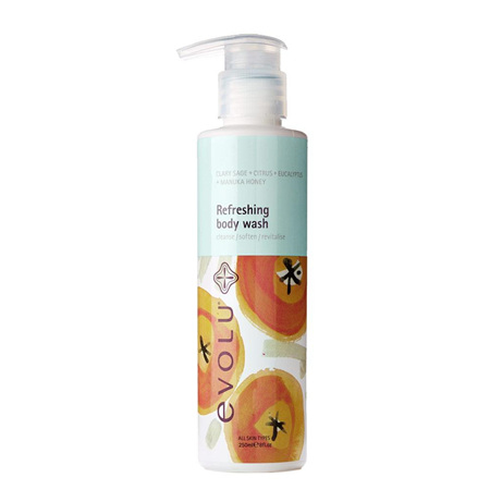 EVOLU Refreshing Body Wash 250ml