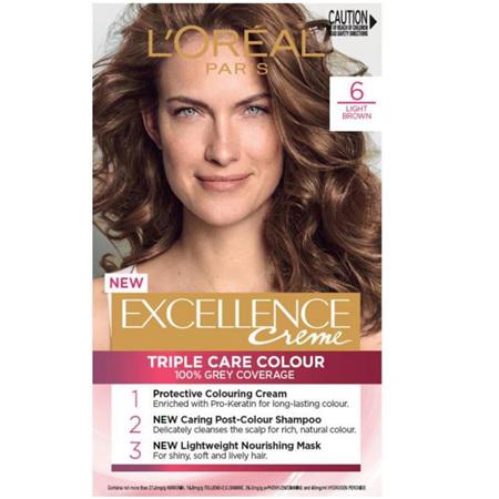 EXCELLENCE Hair Colour 6 Light Brown