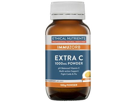Extra C 1000mg Powder Orange 100g