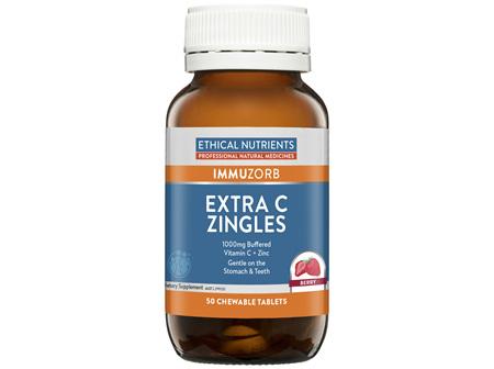 Extra C Zingles Berry 50 Tablets