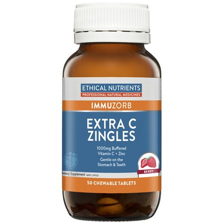 Extra C Zingles Berry 50 Tablets