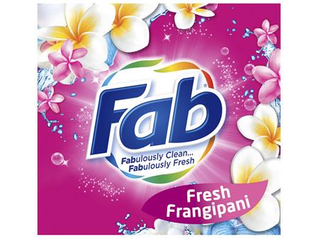 Fab Fresh Frangipani Laundry Powder Detergent 1kg