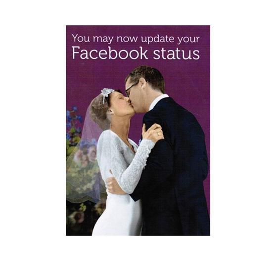 Facebook Status Card