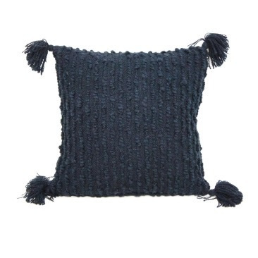 Faith Cushion - Navy Blue 45x45cm