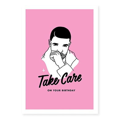 Famous Flames Birthday Card - Drizzy