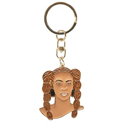 Famous Flames Keyring - Queen-B