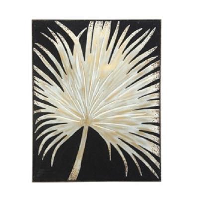Fan Palm Metal Wall Art - 81 x 61cm