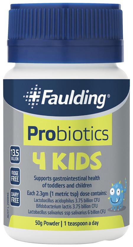 Faulding® Probiotics 4 Kids 50g