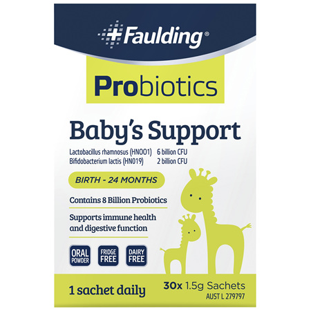 Faulding® Probiotics Baby's Support 30 Sachets