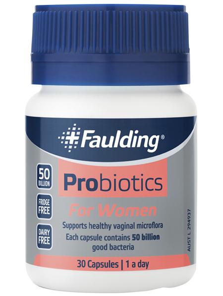 Faulding® Probiotics for Women 30 Capsules