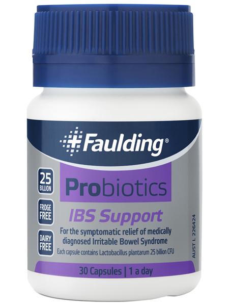 Faulding® Probiotics IBS Support 30 Capsules