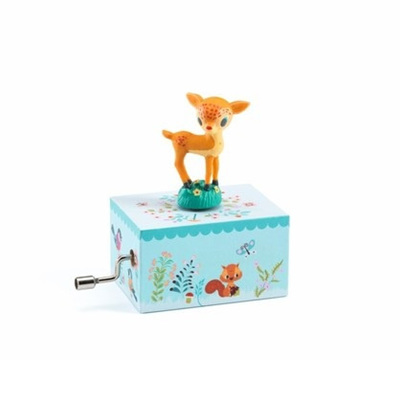 Fawn In The Woods Music Box