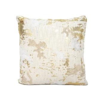 Fayre Cushion - Pink & Gold 45x45cm