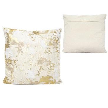 Fayre Cushion - Pink & Gold 55x55cm
