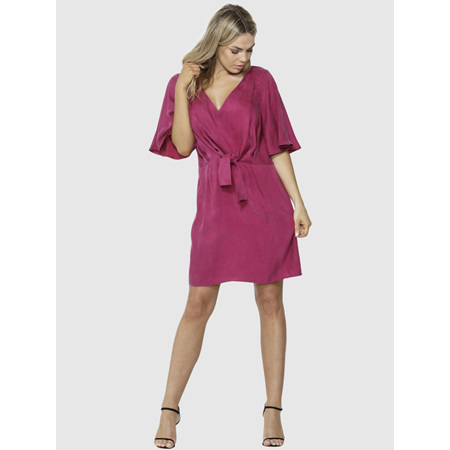 F&B MUST HAVE DRESS MAGENTA SIZE 10