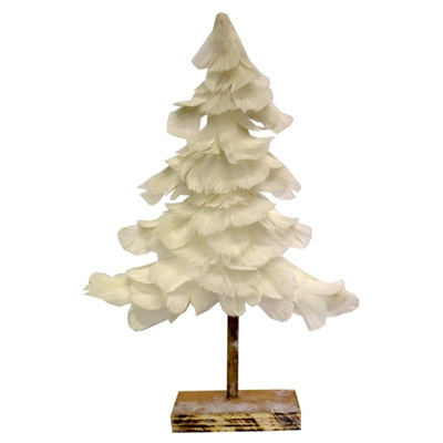 Feather Tree White - Small