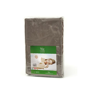 Feel My Bamboo Pillow Case Chocolate Queen