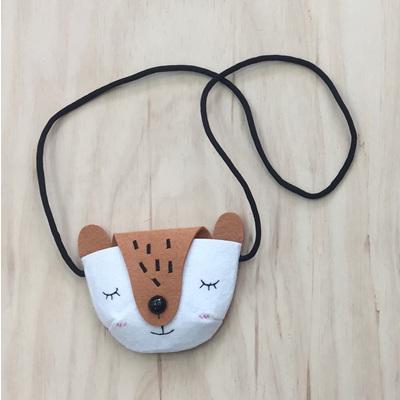 Felt Animal Children's Bag - Fox