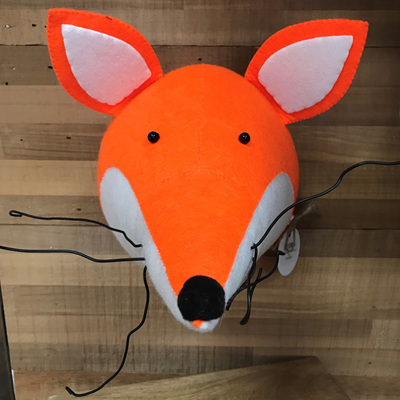 Felt Animal Wall Mount - Fox