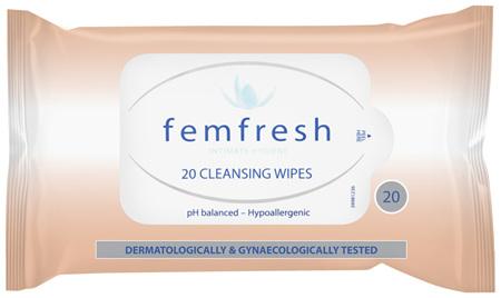 Femfresh Cleansing Wipes 20s