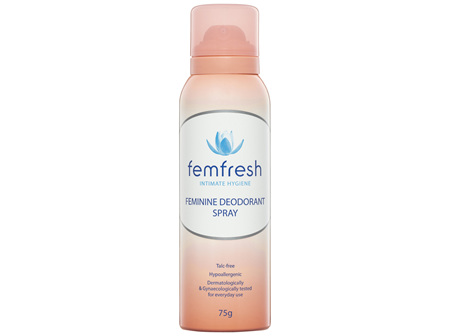 Femfresh Feminine Deodorant Spray 75g