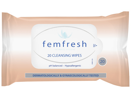 Femfresh Intimate Care Cleansing Wipes 20 Pack
