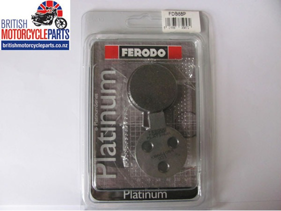 Ferodo disc brake pads FDB88P Platinum for Norton Commando models
