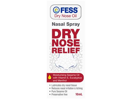 FESS Dry Nose Oil Nasal Spray 10mL