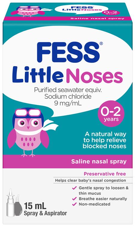 FESS Little Noses Nasal Spray + Aspirator