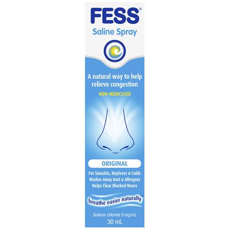 FESS Nasal Saline Spray Original 30mL