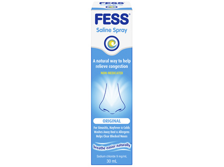 FESS Nasal Saline Spray Original 30mL