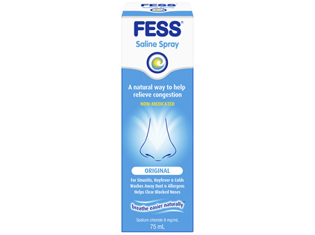 FESS Nasal Saline Spray Original 75mL