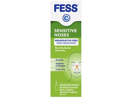FESS Sensitive Noses Nasal Spray 30mL