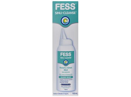 FESS Sinu-Cleanse Nasal & Sinus Mist Allergy 100mL
