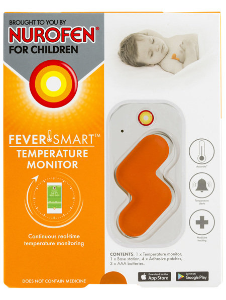 Feversmart Temperature Monitor brought to you by Nurofen for Children