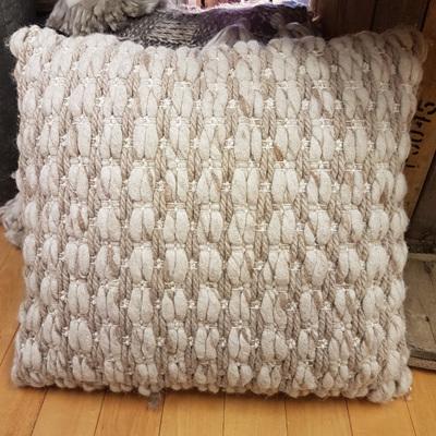 Fielder Woven Cushion - Taupe 55x55cm