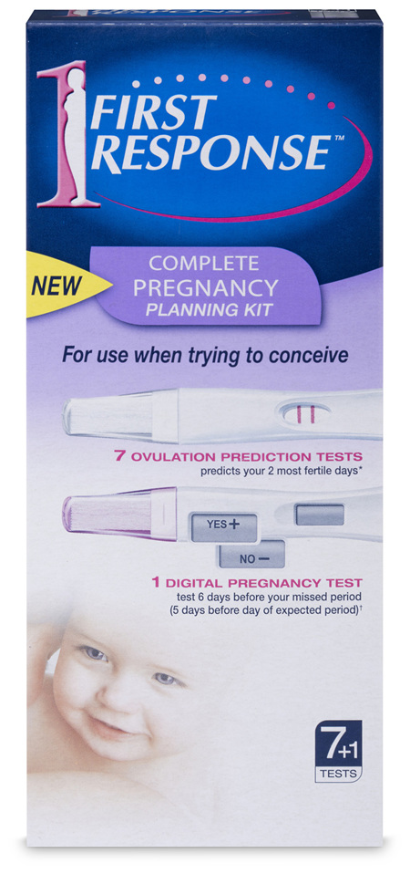 First Response Pregnancy Planning Kit