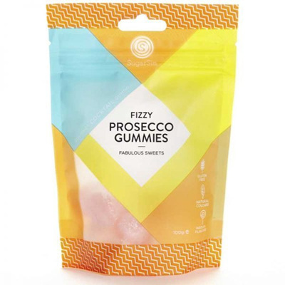 Fizzy Prosecco Gummies - Bag 100g