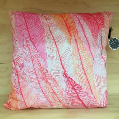 Flamenco Feathers Cushion