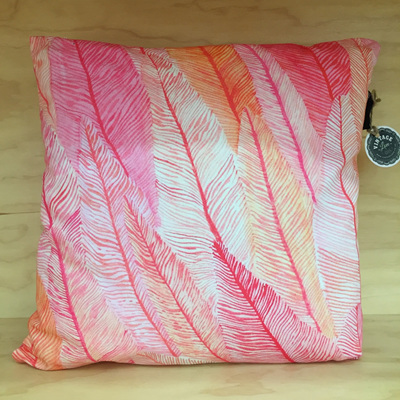 Flamenco Feathers Cushion