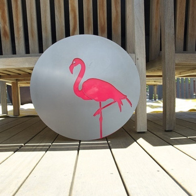 Flamingo Stainless Steel/Acrylic Wall Art