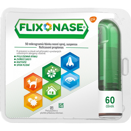 Flixonase 24 Hour Nasal Spray 50mcg  120 dose