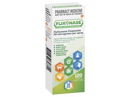 Flixonase Allergy and Hayfever 24 Hour Nasal Spray 120 Sprays